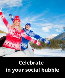 Celebrate with your social bubble