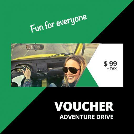 Gift Voucher Adventure Drive
