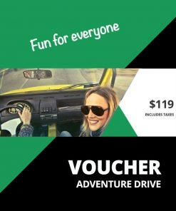 Adventure Drive Voucher